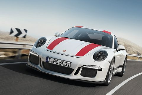 """ポルシェ、""""GT3 RS""""のエンジンを受け継いだ新型「911 R」を991台限定発売"""