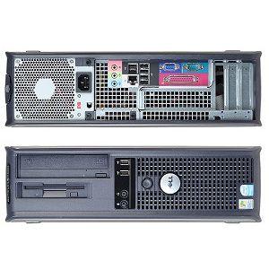 Calculatoare second hand  Dell GX620/Celeron D 3.06G/1G/80G/DVD/Desktop #calculatoaresecondhand #calculatoaresh
