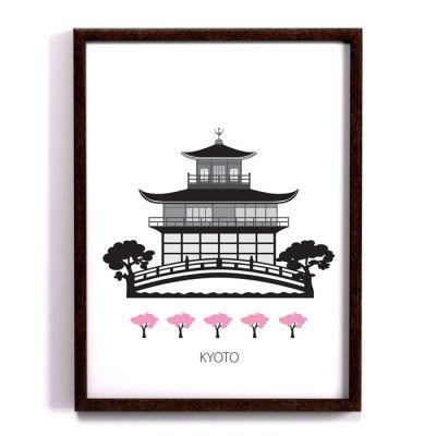 Poster - Kyoto