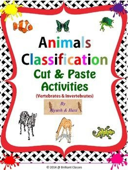 This+module+is+designed+from+my+animal+classification+pack+to+carry+out+assessment+activities+in+class+for+learning+,reviewing+and+fun.It+includes+Animal+Classification+cut+and+paste+activities:+Sort+vertebrates+such+as+mammals,+fish,+reptiles,+amphibians,+birds+and+invertebrates+sponges,+mollusks,+Flatworms,+AnnelidsRoundworms,+Sponges,+Echinoderms,+Cnidarians,+Arthropods.Two+versions+of+this+activity+are+included:1.
