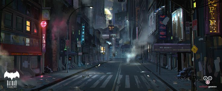 ArtStation - Gotham City, Michael Broussard