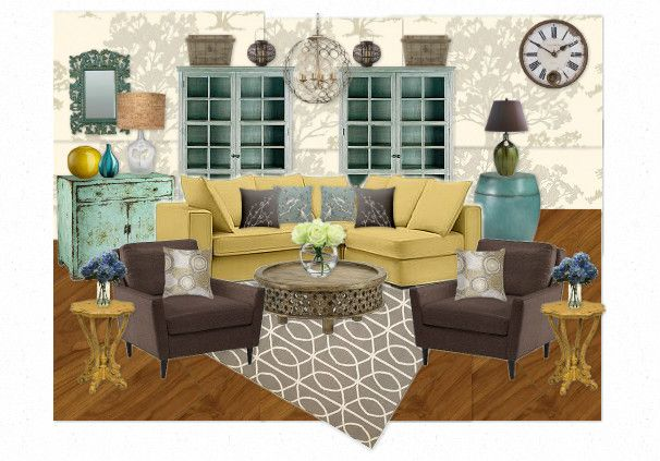 9 best teal mustard and grey living room images on pinterest color schemes grey living rooms. Black Bedroom Furniture Sets. Home Design Ideas