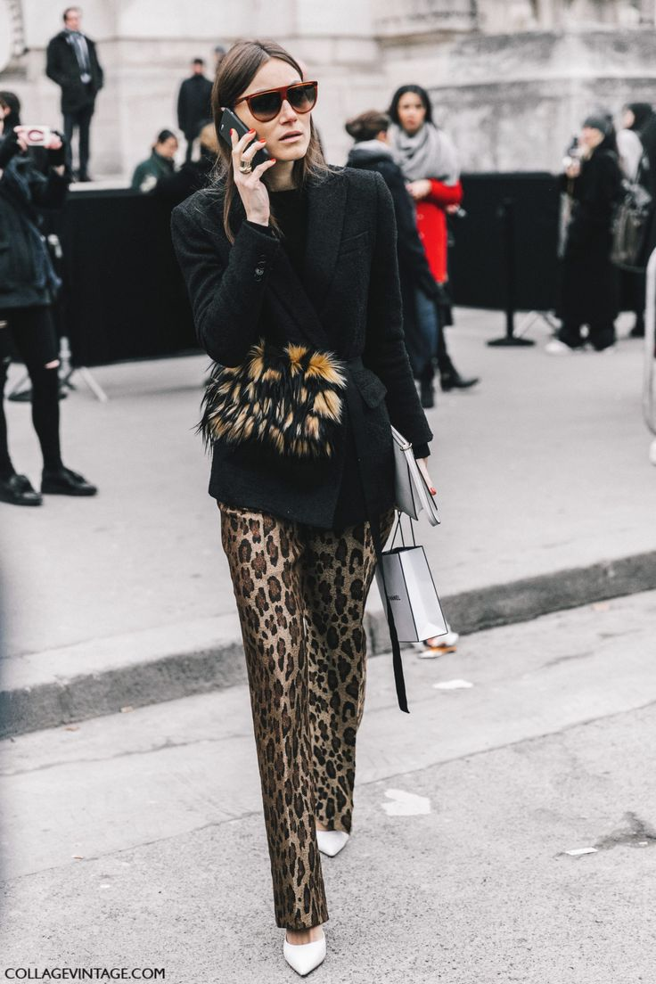 Street Style Paris Couture II | Collage Vintage
