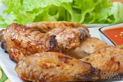 Receita de Asa de frango assada - Comida e Receitas