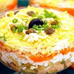 Обалденный салатик которого всегда мало