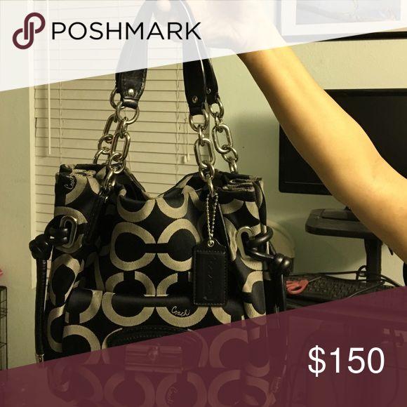 Black coast purse Use black coach purse, good condition Other