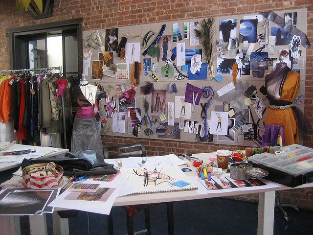 Wonderful Fashion Design Room Ideas Part - 9: Fashion Designeru0027s Studio By Ipek_celik, Via Flickr