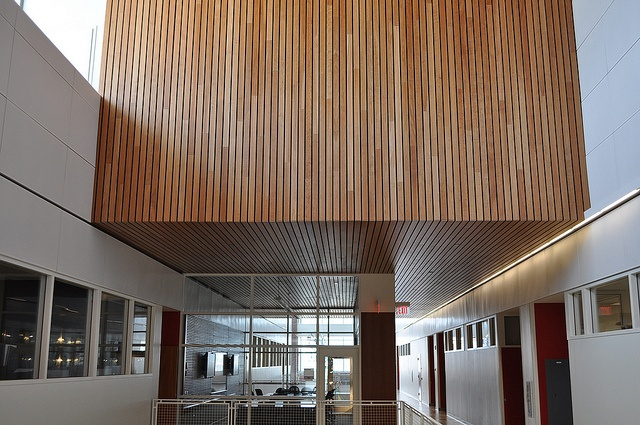 University Classroom - Custom Wood Ceiling & Wall by Acoustical Surfaces, via Flickr