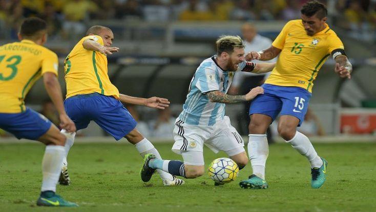 (Video) Brasil goleó 3-0 y dejó en coma a Argentina