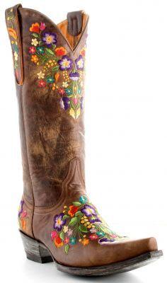 Womens Old Gringo Sora Boots Brass #L841-3 via @Allens Boots