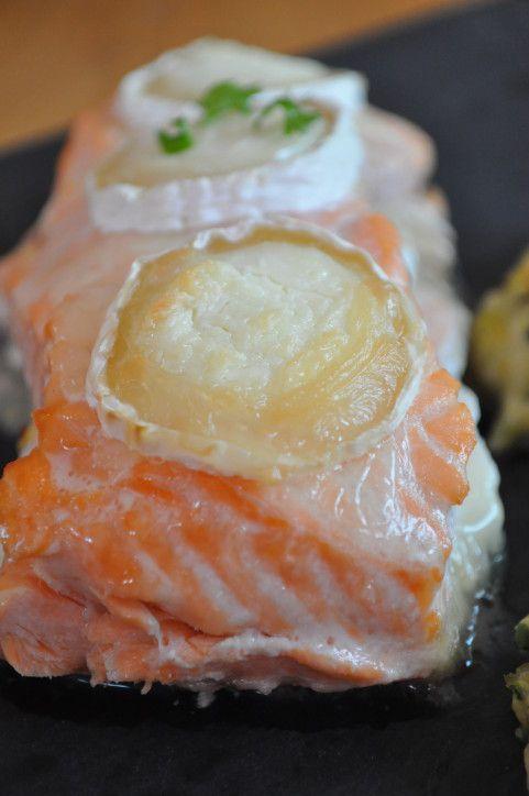 """Voici le deuxième plat que j'ai trouvé sur le blog """"les gourmandises de croups"""" lors de la dernière ronde interblog. Moi qui adore le poisson et le fromage et qui associe souvent ces deux """"matières"""", j'ai tout de suite su que cette recette était faite..."""