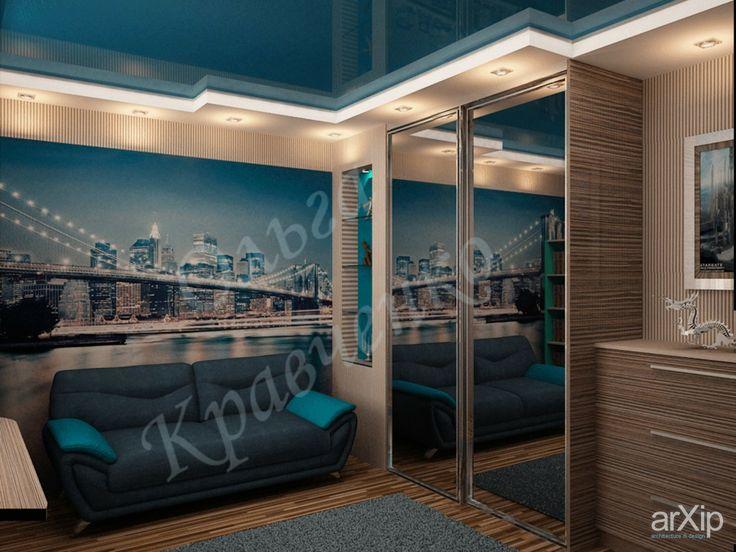 подростковая: интерьер, квартира, дом, спальня, современный, модернизм, 10 - 20 м2 #interiordesign #apartment #house #bedroom #dormitory #bedchamber #dorm #roost #modern #10_20m2 arXip.com