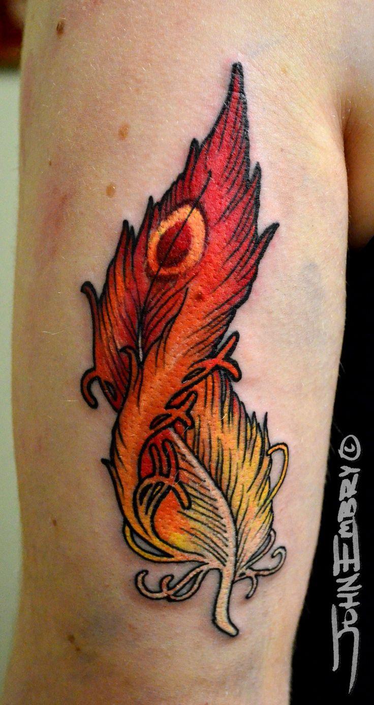 Phoenix Tattoos | Phoenix feather Tattoo | Arte Tattoo - Fotos e