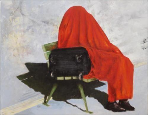 """Bruno Perramant, """"La couverture rouge (Léviathan)"""" (1962)"""