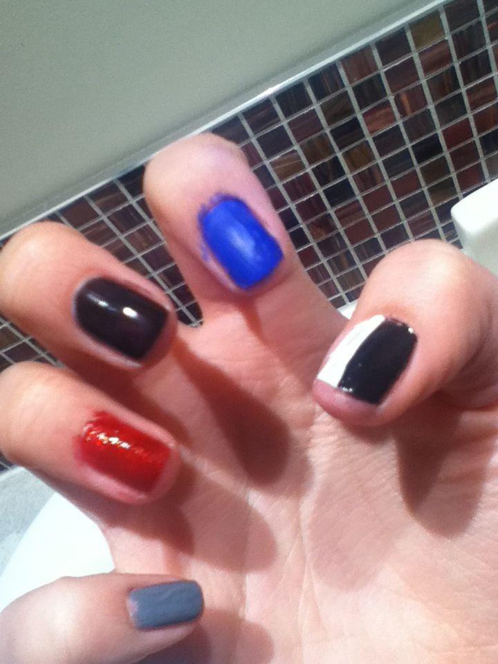 Best 25 divergent nails ideas on pinterest bird nail art divergent nail art prinsesfo Image collections