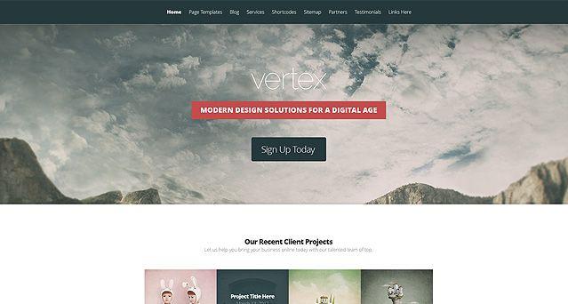Vertex WordPress Theme