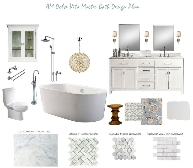 Everything, literally every thing I want for the main bathroom