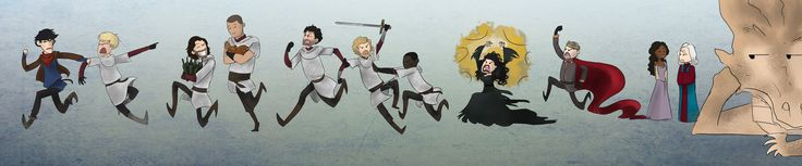 The Merlin Chase by Mxi665 on DeviantArt --- I really find this far too hilarious :D