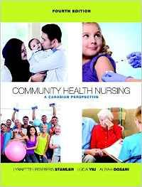 Community Health Nursing: A Canadian Perspective prepares students for community nursing practice anywhere in Canada by laying a strong theoretical foundation and encouraging partnerships between nurses and individuals and the community to promote health.     A contributed volume written primarily for undergraduates enrolled in a community health nursing course, the fourth edition provides the foundation and explores issues in community health in the Canadian context.