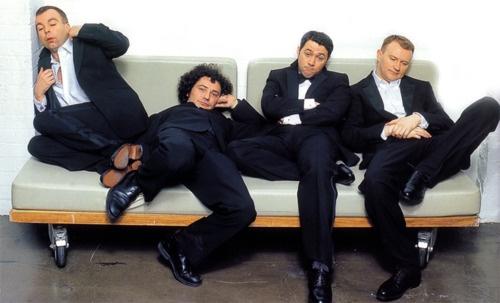 The League of Gentlemen: Steve Pemberton, Jeremy Dyson, Reece Shearsmith and Mark Gatiss