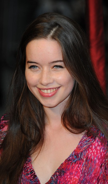 English Actress Anna Popplewell ... hollywood celebrity... _