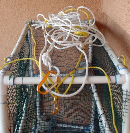 Disclaimer! Check you local regulations to be sure this type of trap is legal to use in your area! I was looking for a lightweight, cheap, non-corroding crab trap design. I needed it to be cheap because there were several locations I wanted to...