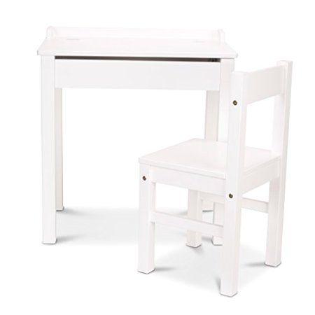 Melissa Amp Doug Lift Top Desk Amp Chair White Children S