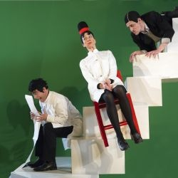 """From Teater Hund's production """"Fear and Friends"""" (2006). Photo: Per Bix"""