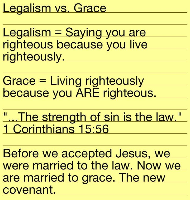 difference between law and grace pdf