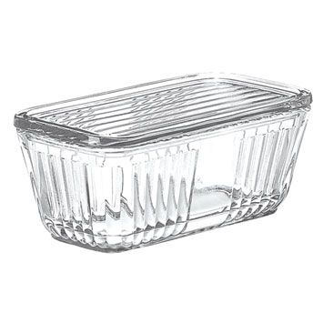 Anchor Hocking Bake N� Store ~ Glass Food Storage Container with Glass