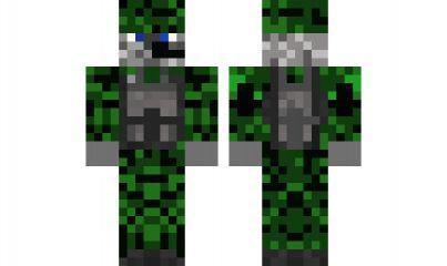 minecraft skin mercanary-from-battlefeild-4