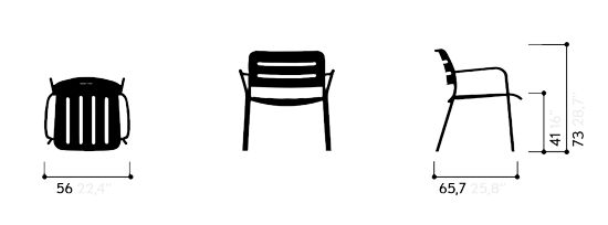 KETTAL VILLAGE - Club armchair