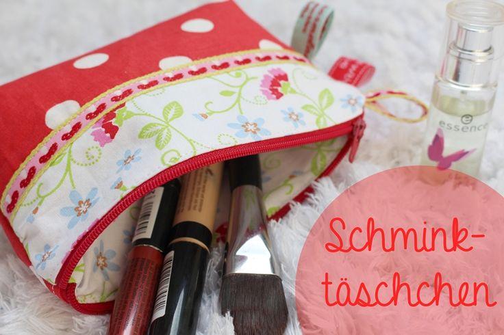 Anleitung Schminktäschchen (mit Schnittmuster!)
