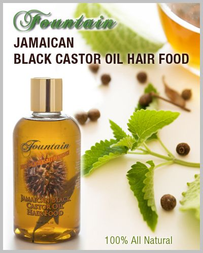 "Jamaican Black Castor Oil, when applied topically to the skin, is able to penetrate deeper than any other essential plant oil.  Rheumatism, arthritis, back pain, sore muscles, stiff joints, poor circulation, nerve damage, fluid retention, swellings?  Massage liberally to the area of discomfort.""  Fountain JBCO"