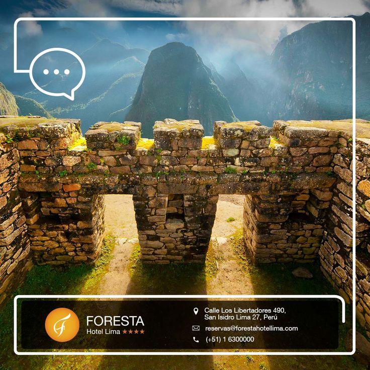 ¿Sabías que la mejor época para visitar Machu Picchu es ahora? En tu paso por Lima quédate en Foresta Hotel Lima, consulta nuestras PROMOCIONES