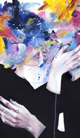 Intimacy On Display by Agnes Cecile - Prints available in a variety of formats at Eyes On Walls http://www.eyesonwalls.com/collections/agnes-cecile