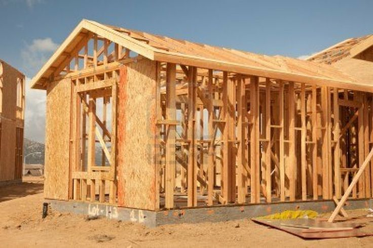 Image detail for -Abstract Of New Home Construction Site Framing. Royalty Free Stock ...