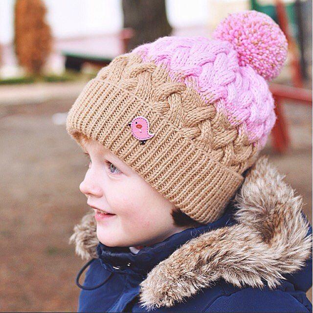 Выдалась пара тёплых деньков и мы уже переоделись в весеннюю шапку, а зимнюю свою мы потеряли, к сожалению((( но это повод придумать новую!