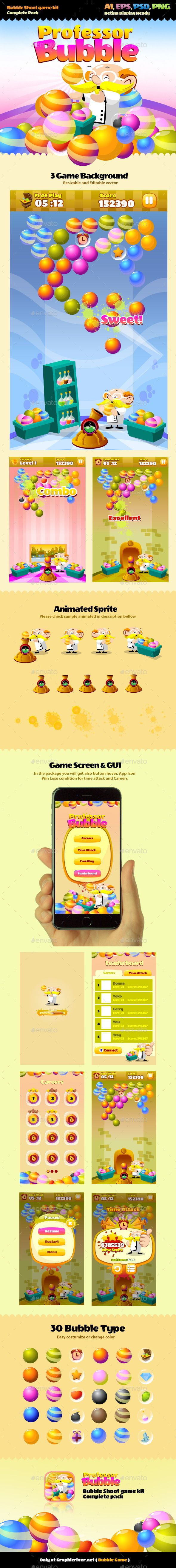 Bubble Game - Game #Kits #Game #Assets | Download http://graphicriver.net/item/bubble-game/10123614?ref=sinzo