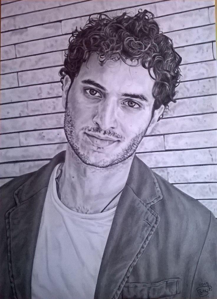 Alessandro Tersigni matita su cartoncino liscio 24x33