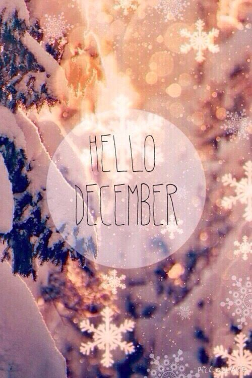 Hello December! It's the last month to get it right!