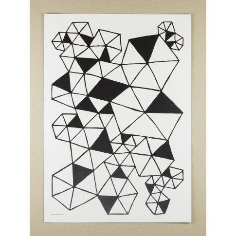 Plakat A3 Grafik - MagiaPolnocy.pl sklep w stylu skandynawskim. #muumuru