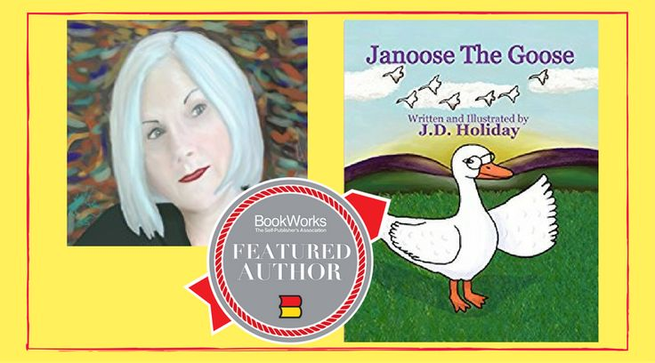I'm Featured on Book Works! Congratulations to FEATURED AUTHOR J.D. Holiday! author/illustrator's  charming books 4 kids: http://bit.ly/2wtP7Mg