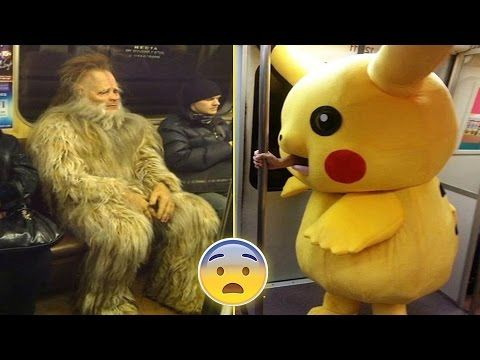 Weirdest People On The Subway