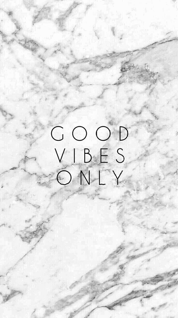Good Vibes Only Wallpaper Background Marble Iphone Wallpaper