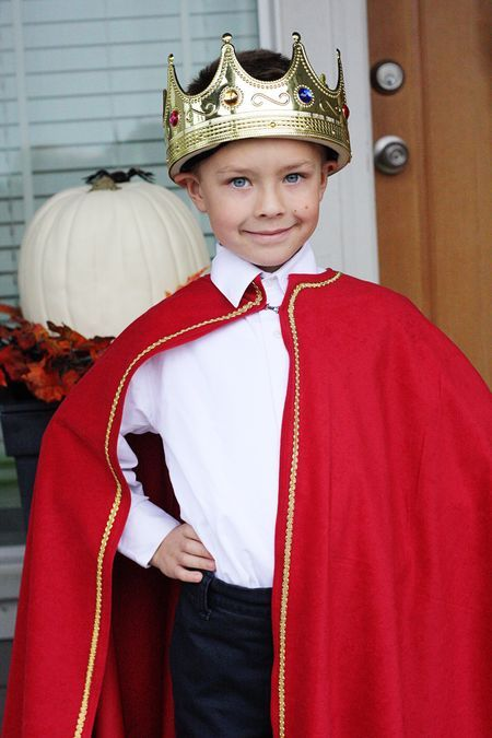 King Costume Homemade Cape Find Joy In The Journey