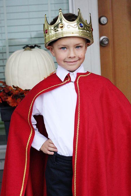 King costume - homemade cape