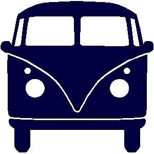 Vanaf vandaag is de bekende VW bus ook in roze én blauw verkrijgbaar in mijn webshop . Er was ook al een (donker) marine blauwe versie verk...