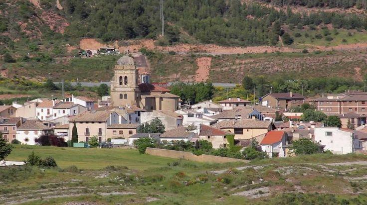 Panorámica de Mañeru, Navarra, Camino de Santiago