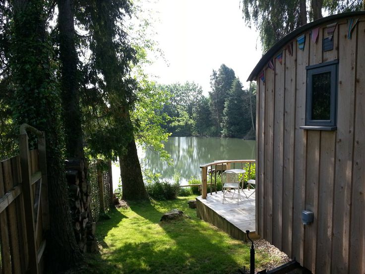 In This Post Youu0027ll Get To Tour A Luxurious Tiny Cabin Nestled In The Woods  With Views Of A Lake In A Peaceful Setting Alongside Other Country Micro  Cabins.